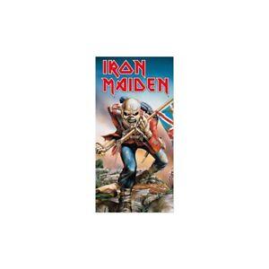Iron Maiden 'The Trooper' Beach Towel - NEW
