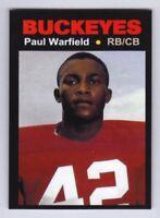 Paul Warfield, '63 Ohio State Buckeyes Monarch Corona Glory Days #32