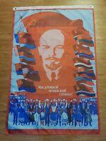 RUSSIAN COMMUNIST LENIN 150x90cm 3x5ft Poster Banners Flag Propaganda Plakaten
