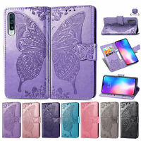 For Xiaomi F1 Mi 9 Max3 Butterfly Flip Leather Wallet Stand Card TPU Case Cover