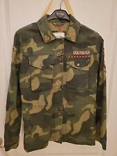 Abercrombie Women Army Jacket, Green color, SZ S