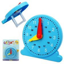 Kids Time Educational Clock Toy Children Learning Teaching Number Tool US FAST