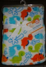 Swiggles Dinosaur Security Blanket Lovey Palm Tree Lux Luxe Fleece NEW RETIRED