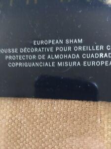 Ralph Lauren Verdonnet Paisley Linen Euro Sham European Pillow Sham