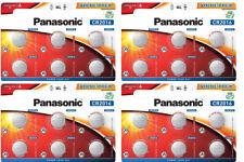 24 x Panasonic CR 2016 3V - 4 x 6er Blister Batterie Lithium Knopfzelle 90mAh
