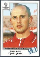 PANINI UEFA CHAMPIONS LEAGUE 1999-00- #180-OLYMPIAKOS-PREDRAG DJORDJEVIC