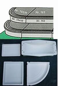 Treppenstufen- 4 Teilige Schalung - Giessformen für Beton