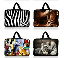 """14"""" Cool Netbook Laptop PC Sleeve Case Bag Hide Handle For Dell Alienware M14x"""