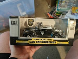 Law enforcement 1940 Die Cast Ford Limited Edition Model Car liberty