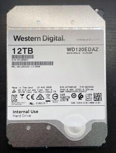 WD 12TB SATA III 5400RPM 3.5-Inch Internal HDD - WD120EDAZ