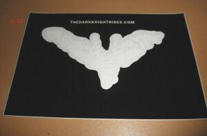 Dark Knight Rises Batman Logo Sticker Decal SDCC comic con exclusive DC Universe