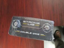 ODYSSEY STROKE LAB PUTTER - DOUBLE WIDE - Right Hand - New - Cover included