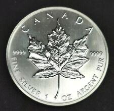 Kanada Maple Leaf 5 Dollars von 1990 - 1 Unze Silber