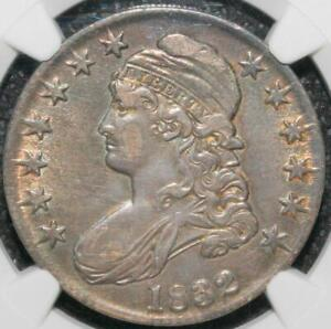 1832 Capped Bust Half Dollar 50C - Certified NGC AU50