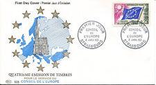 FRANCE FDC - 453b S28 2 CONSEIL DE L'EUROPE 3 1 1963