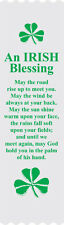 """An Irish Blessing"" Bible Bookmark Ribbons, pack of 10"