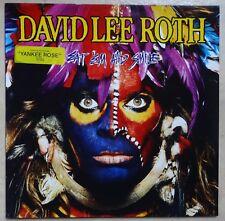 VINYLE 33 TOURS DAVID LEE ROTH EAT'EM AND SMILE 9254701 WARNER 1986 LP INSERT
