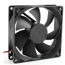 92mm x 25mm DC 12V 2Pin 65.01CFM Computer Case CPU Cooler Cooling Fan HY