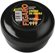 Figaro Crema Sapone da Barba Special Edition Noir, 6 x 150 ml (d2i)