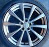 07-13 INFINITI G37 COUPE Wheel 19x9 Rear 10 Spoke G37 SPORT NO TIRE