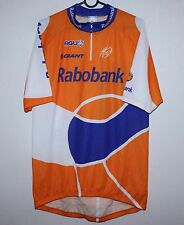 Rabobank cycling team shirt jersey Size XXL 6c5464e13