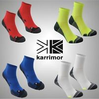 2 Pack Mens Karrimor Sports Breathable Dri Skin Running Socks Sizes 7-11 12+