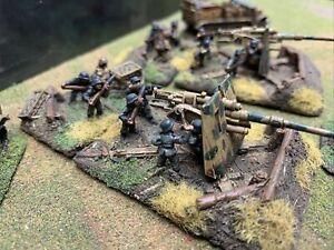 Flames Of War 8.8cm Heavy AA Platoon 15mm WW2