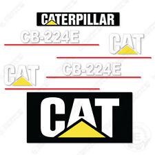 Caterpillar CB224E Decal Kit Vibratory Smooth Drum Roller CB 224 E CB-224-E