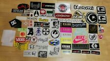 lot 80 old stickers skateboarding snowboarding skate original