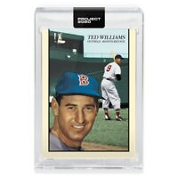 Topps PROJECT 2020 Card 90 - 1954 Ted Williams by Oldmanalan PRESELL 🔥