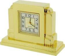 Gift Time Products Art Deco Mantel Miniature Clock - Gold