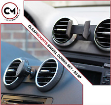 Clearmounts Swivel Magnetic & Cradle Phone Holder - Audi A3 2002-2012 (8P)