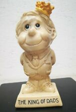 Vintage 1973 King of DADS statue collectible USA  W R Berries and Co.