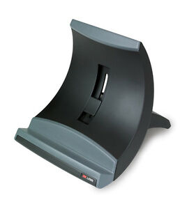 Brand New 3M Vertical Notebook Riser LX550 Adjustable Laptop Stand Black