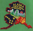 ALASKA DIVISION OF FORESTRY WILDLAND FIRE FIGHTER PATCH