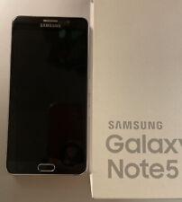Samsung Galaxy Note5 - 64 GB - Black Sapphire, Silver Trim (Verizon) Smartphone