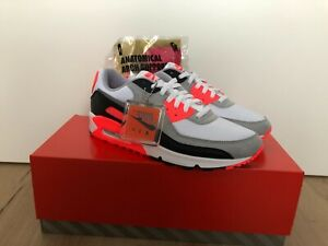 Nike Air Max 90 III infrared / Radiant Red 2020 Gr. 45
