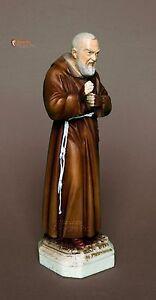 Statua Padre Pio 15 - 20cm in resina, made in Italy