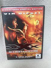 Xxx (Dvd, 2002, Wide Screen Special Edition) Vin Diesel Great Guy Movie!
