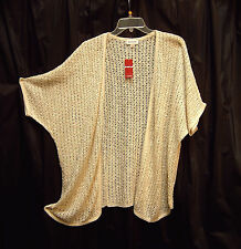 OVERSIZED DOLMAN CARDIGAN JACKET SWEATER TOP~1X~2X~18~20 ~NEW