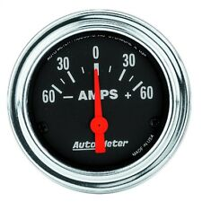 AutoMeter 2586 Traditional Chrome Electric Ampmeter Gauge