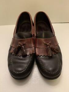 Sperry 0823526 Black / Brown Kilte Tassel Loafer Shoes Mens sz 11 M