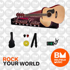 Aria Acoustic Guitar Package Natural - Brand New - Belfield Music for sale
