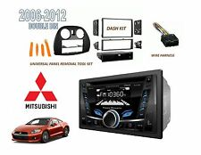 2006-2012 MITSUBISHI ECLIPSE Car Stereo Kit BLUETOOTH CD USB MP3 DOUBLE DIN