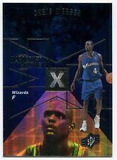 1997-98 SPx Hardcourt Holoview CHRIS WEBBER Rare Non-Die Cut Blank Back Proof