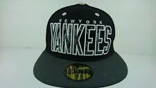 New York Yankees Hat MLB New Era Genuine Merchandise 7 1/4 Fitted