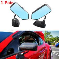 Aluminum Bracket Racing Drift Car Side Rearview Mirror 2Pcs Carbon Fiber Look