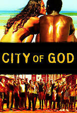City of God (Dvd+digital, 2002) Brand New! Free Shipping!