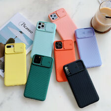 For iPhone 11 /11 Pro/11 Pro Max Slide Camera Lens Cover Protection Phone Case