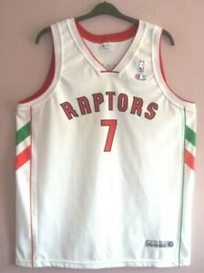 NWOT Champion Toronto Raptors Ltd NBA Live Europe 2007 Bargnani jersey XXL 48 #7